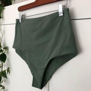 Mara Hoffman High Waited Swimsuit Bottom